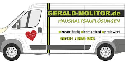 Entrümpelung Gerald Molitor in Mainz