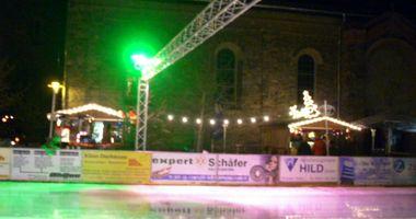 Elzer Eiszauber und Weihnachtsmarkt 2015 in Elz
