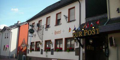 """""""Zur Post"""" Restaurant u. Hotel in Dauborn Gemeinde Hünfelden"""