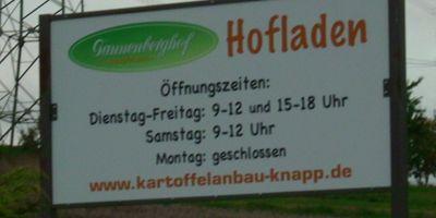 Tannenberghof - Kartoffel Knapp in Mensfelden Gemeinde Hünfelden