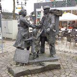 Denkmal Skulptur - Winterberger Handelsmann in Winterberg in Westfalen