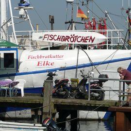 Fischkutter ELKE in Heikendorf
