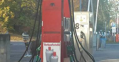 Tankstelle Putbus in Putbus