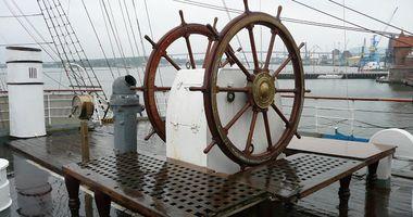 """Museumsschiff """"Gorch Fock I"""" in Stralsund"""