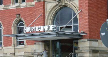 Kiel Hauptbahnhof in Kiel