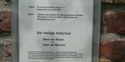 St. Antonius - Heiligenhäuschen in Neukirchen-Vluyn