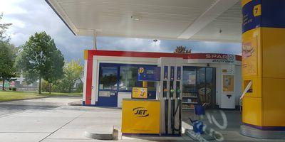 JET-Tankstelle in Weimar in Thüringen