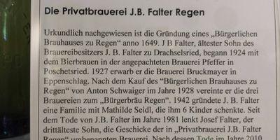 Privatbrauerei J.B. Falter Regen KG in Regen