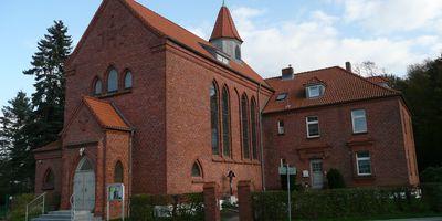 """Katholische Kirche """"Trösterin der Betrübten"""" St. Maria in Barth"""