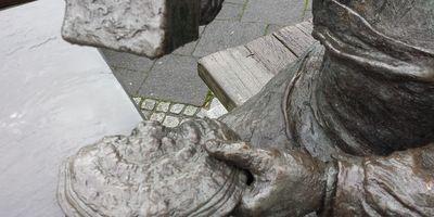 Skulptur Schwammklöpper in Bad Fredeburg Stadt Schmallenberg