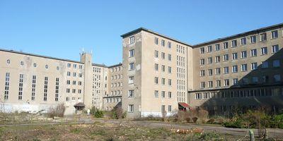 Koloss von Prora - im Umbau in Prora Gemeinde Binz Ostseebad