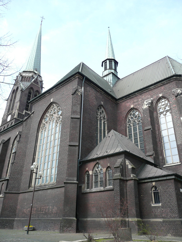 Duisburg katholische meiderich kirche Café Klamotte
