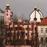 Grüne Zitadelle - Hundertwasserhaus in Magdeburg