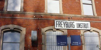 Bahnhof Freyburg (Unstrut) in Freyburg an der Unstrut