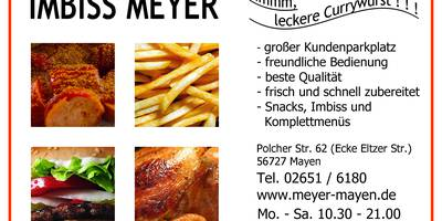 Meyers Imbissbetrieb in Mayen