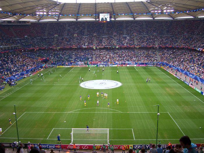 Volksparkstadion Hamburg Parken