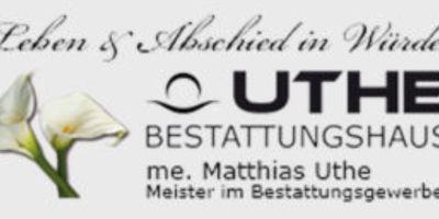 Uthe Matthias Bestattermeister in Niederhone Stadt Eschwege