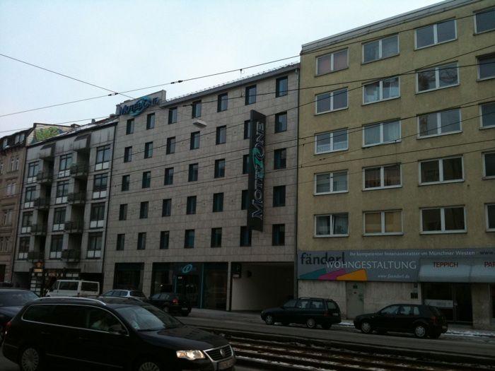 motel one m nchen city west 187 bewertungen m nchen schwanthalerh he landsberger str. Black Bedroom Furniture Sets. Home Design Ideas