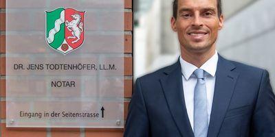 Notar Dr. Jens Todtenhöfer, LL.M. in Moers