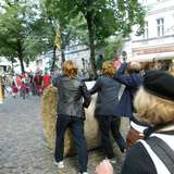 Popráci - Rixdorfer Strohballenrollen in Berlin