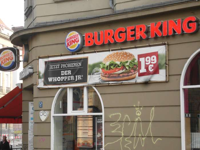 bilder und fotos zu burger king in berlin karl marx str. Black Bedroom Furniture Sets. Home Design Ideas