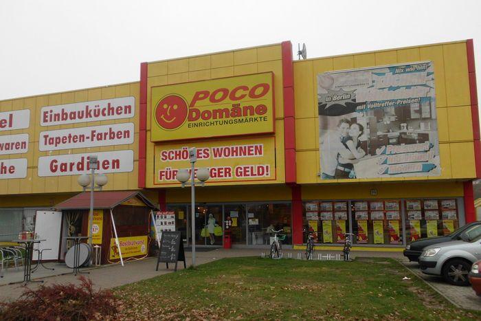 Bilder und Fotos zu POCO-Einrichtungsmarkt in Berlin, Buckower Damm