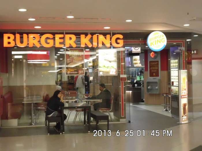 burger king gropius passagen 1 bewertung berlin gropiusstadt johannisthaler chaussee. Black Bedroom Furniture Sets. Home Design Ideas