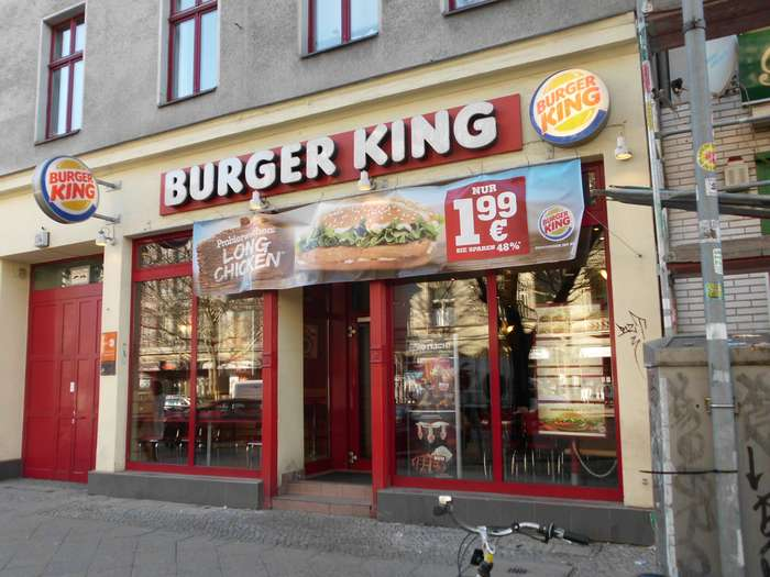 bilder und fotos zu burger king in berlin potsdamer str. Black Bedroom Furniture Sets. Home Design Ideas