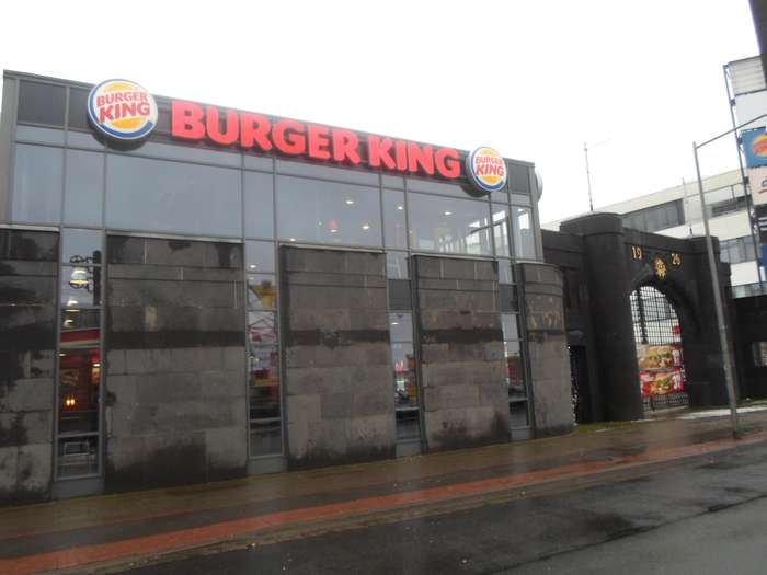 bilder und fotos zu burger king in hannover hildesheimer stra e. Black Bedroom Furniture Sets. Home Design Ideas