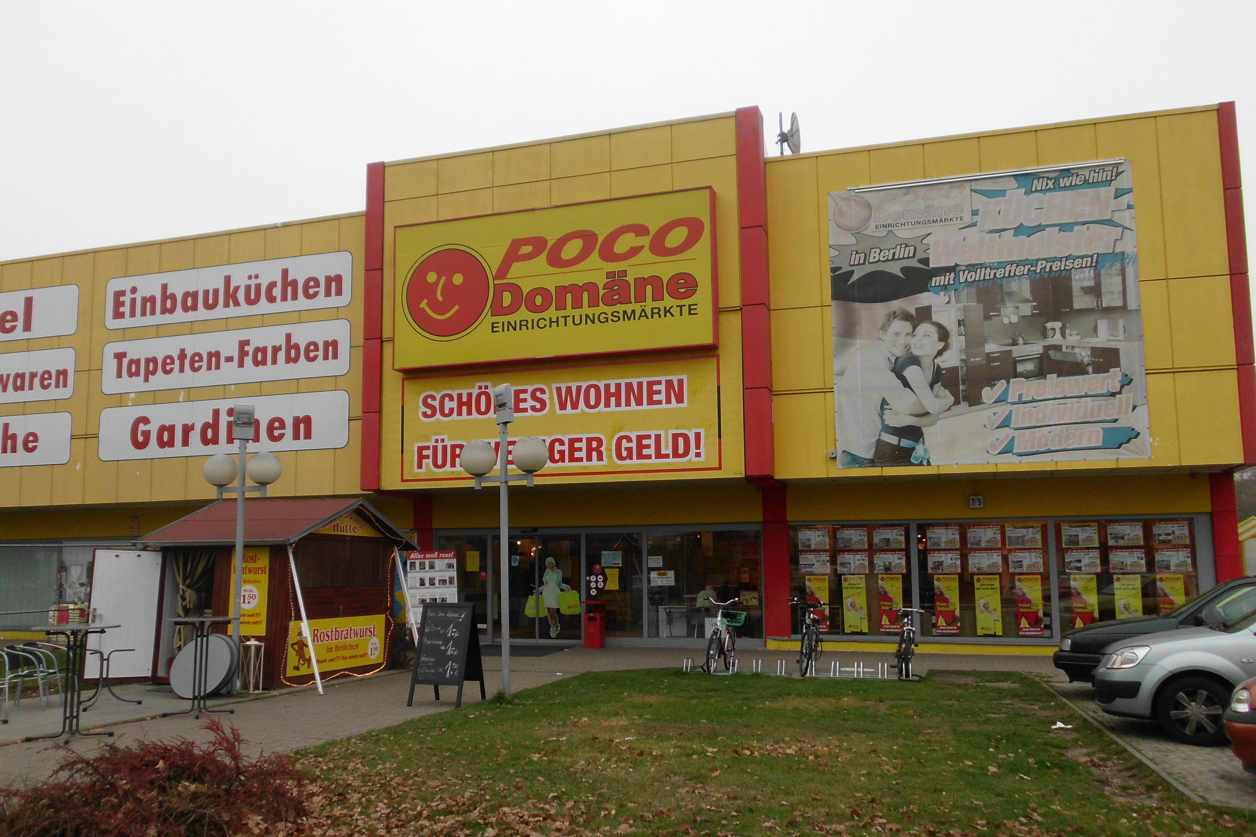 Poco Domäne Einrichtungsmärkte Gmbh Co Kg 12349 Berlin Britz