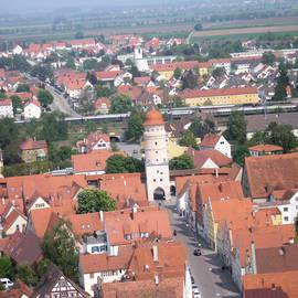Kirchturm Daniel in Nördlingen