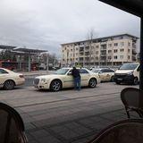 Taxirufsäule Bahnhof Vorstadt in Strausberg