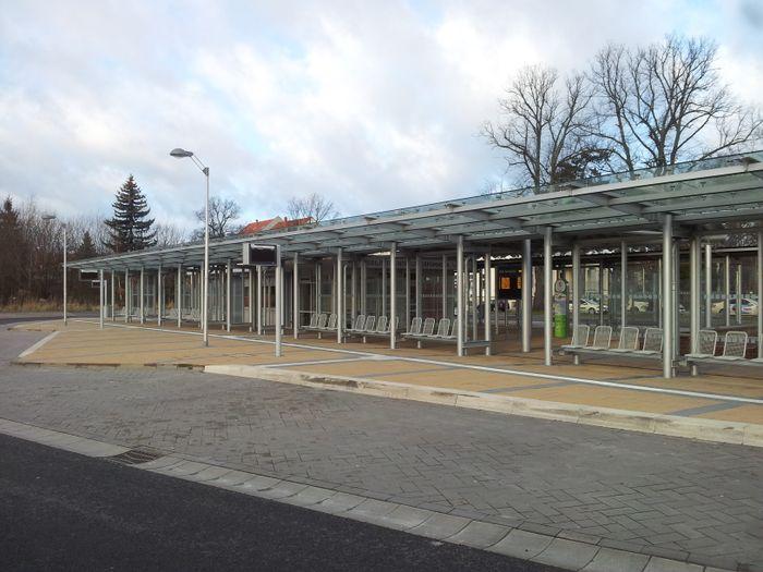 ZOB Greifswald Zentraler Omnibusbahnhof Bus Bahnhof In