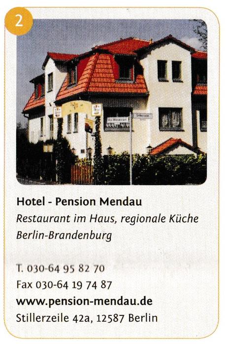 pension mendau - 8 bewertungen - berlin friedrichshagen ... - Regionale Küche Berlin