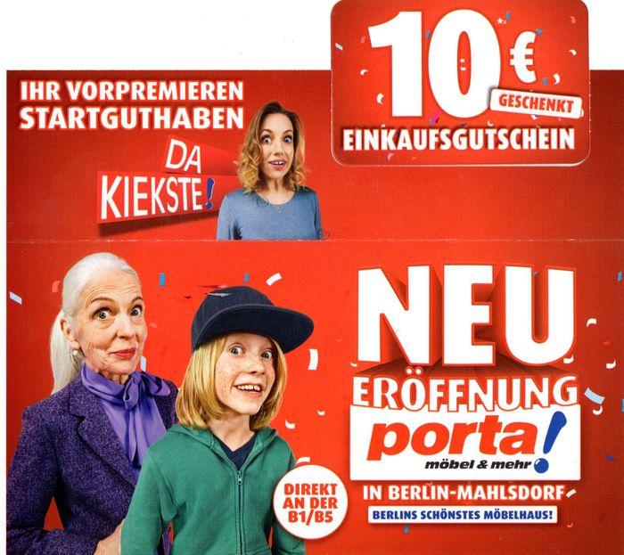 Porta Einrichtungshaus Berlin Mahlsdorf 12 Bewertungen Berlin
