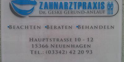 Zahnarztpraxis Dr. Geske Gerund-Anlauf in Neuenhagen bei Berlin
