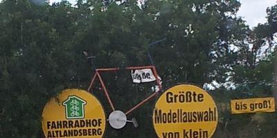 Fahrradhof Altlandsberg in Altlandsberg