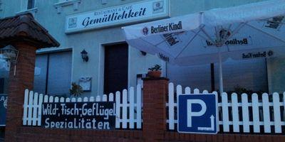 Die Gemütlichkeit in Neu Zittau Gemeinde Gosen Neu Zittau