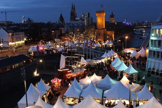 Kölner Hafen-Weihnachtsmarkt Köln
