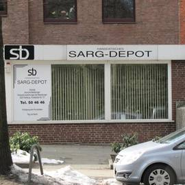Hanseatisches Sarg-Depot in Hamburg