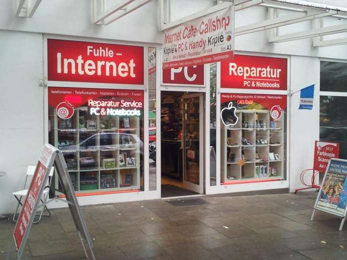 pc service und internet cafe fuhle pc reparatur in hamburg. Black Bedroom Furniture Sets. Home Design Ideas