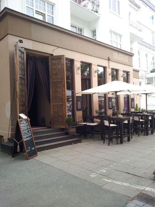 bilder und fotos zu imara restaurant bar lounge in hamburg eppendorfer weg. Black Bedroom Furniture Sets. Home Design Ideas