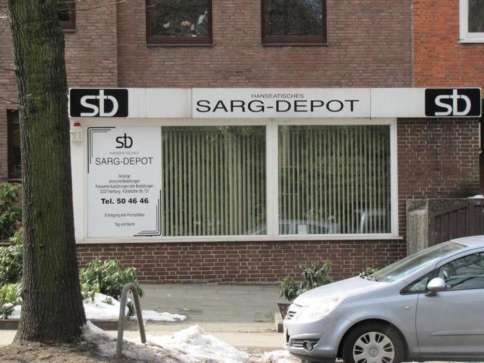 Hanseatisches Sarg Depot Gmbh In Hamburg Ohlsdorf Im