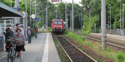Bahnhof Glückstadt in Glückstadt