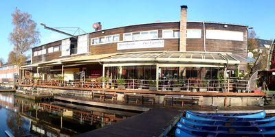"""Bootsvermietung Dornheim & Restaurant """"Zur Gondel"""" in Hamburg"""