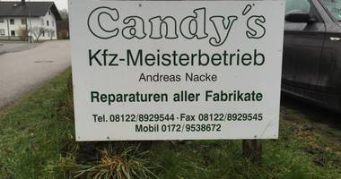 Candy`s Kfz Meisterbetrieb in Forstern in Oberbayern