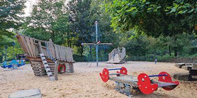 Ludwig-Rehbock Park in Leverkusen