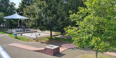 Minigolf im Neulandpark in Leverkusen