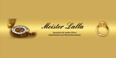 Meister A. Lalla Uhrmachermeister in Hamburg