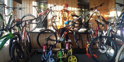 Abe's Fahrradcenter in Ilmenau in Thüringen